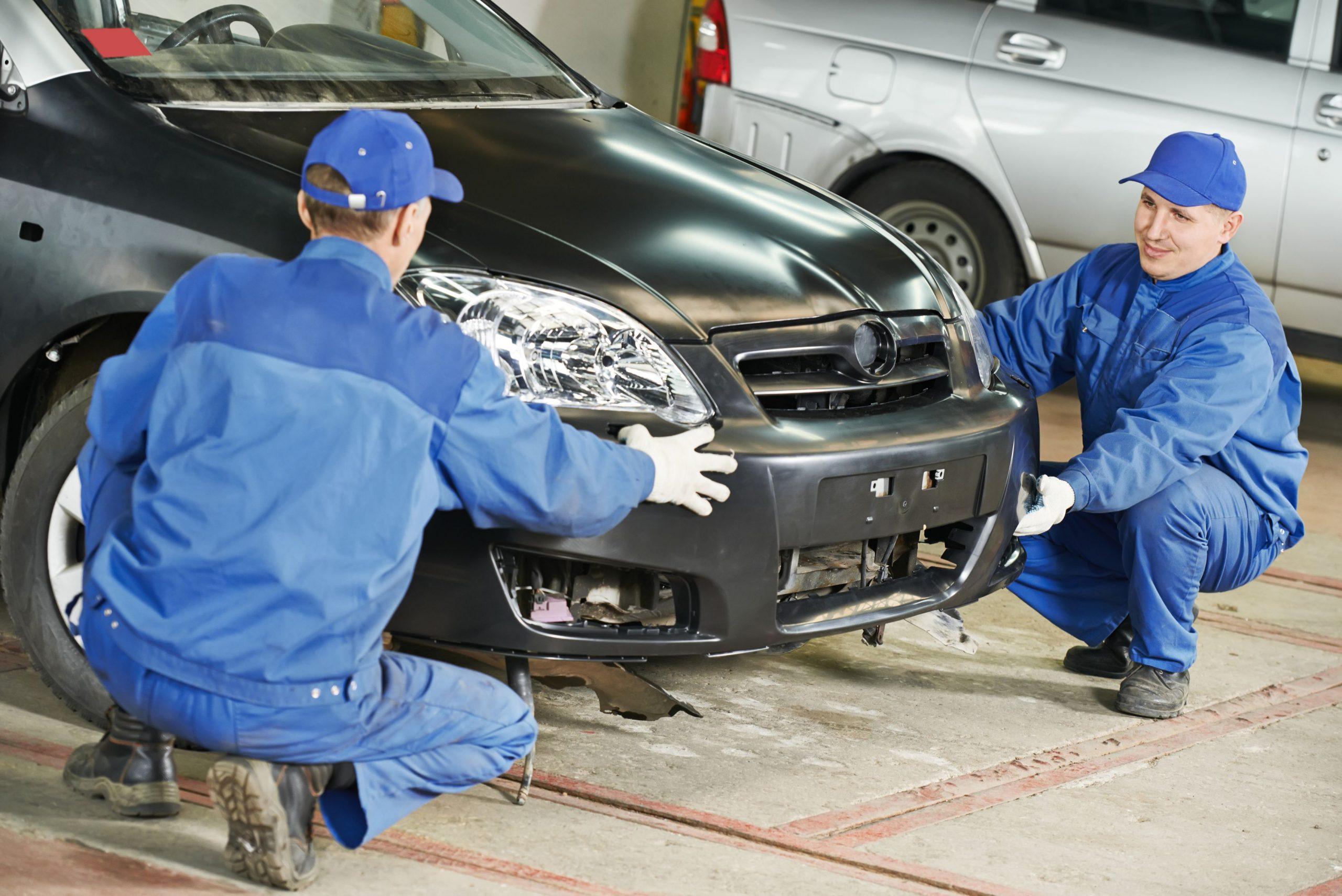 Damaged Auto Body Repair